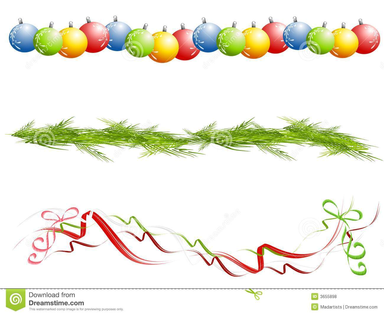 Christmas clip art printables free banner free download Christmas ornaments clipart printables free - ClipartFest banner free download