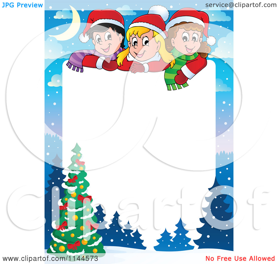 Christmas clip art printables free graphic free Free Christmas Clipart Borders Printable | Clipart Panda - Free ... graphic free