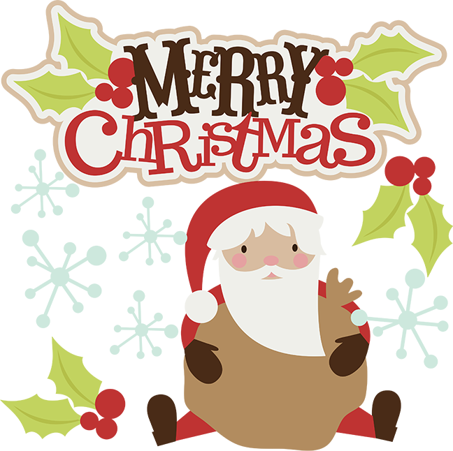 Free merry christmas clipart svg Merry Christmas SVG christmas clipart santa svg santa clipart cute ... svg