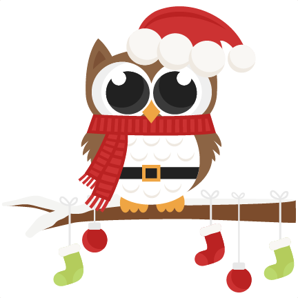 Christmas clip art svg stock Christmas Owl Clip Art & Christmas Owl Clip Art Clip Art Images ... stock