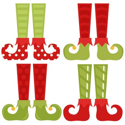 Christmas clip art svg freeuse download Elf Shoe Set SVG cutting files christmas svg cuts free svgs cute ... freeuse download