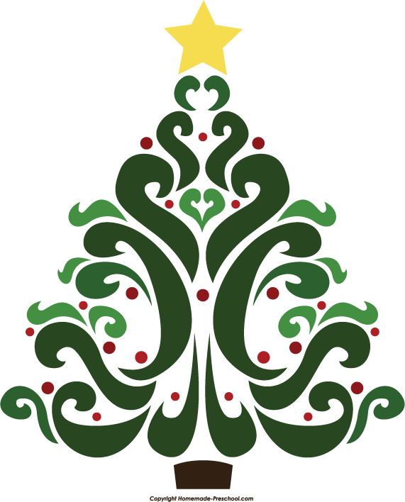 Free angel tree clipart vector transparent download Artist Christmas Cliparts - Making-The-Web.com vector transparent download