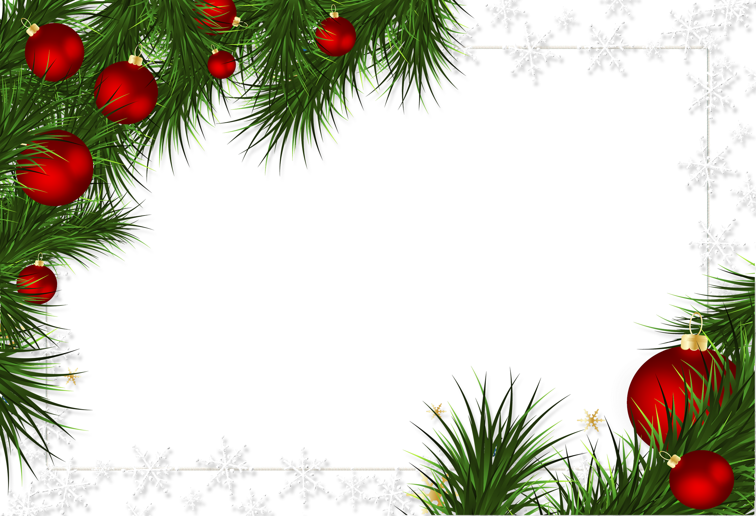 Christmas frame clipart clipart transparent Christmas Clip Art #35326 - Free Icons and PNG Backgrounds clipart transparent