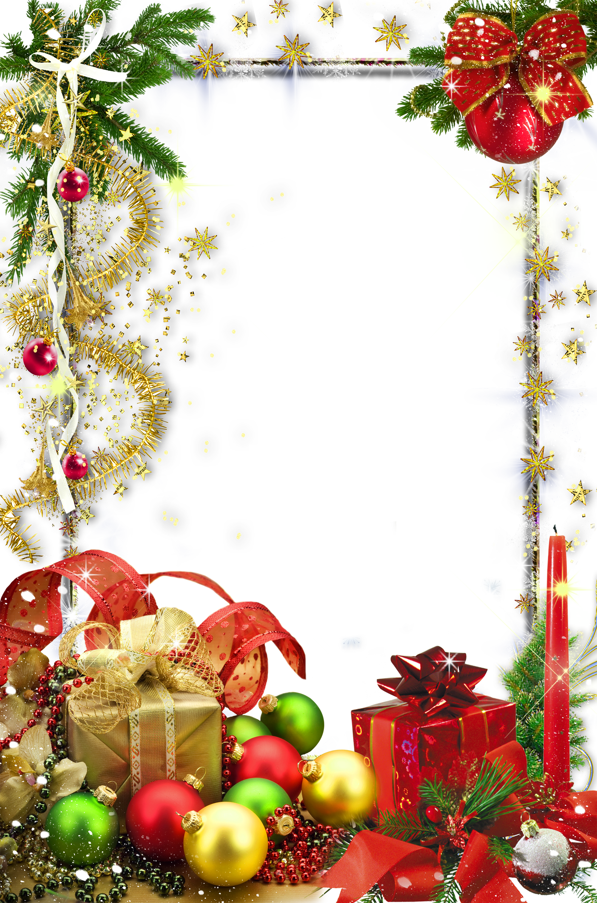 Christmas wallpaper clipart jpg transparent Transparent Christmas Holiday Photo Frame | Christmas❆ClipArt, PNG ... jpg transparent