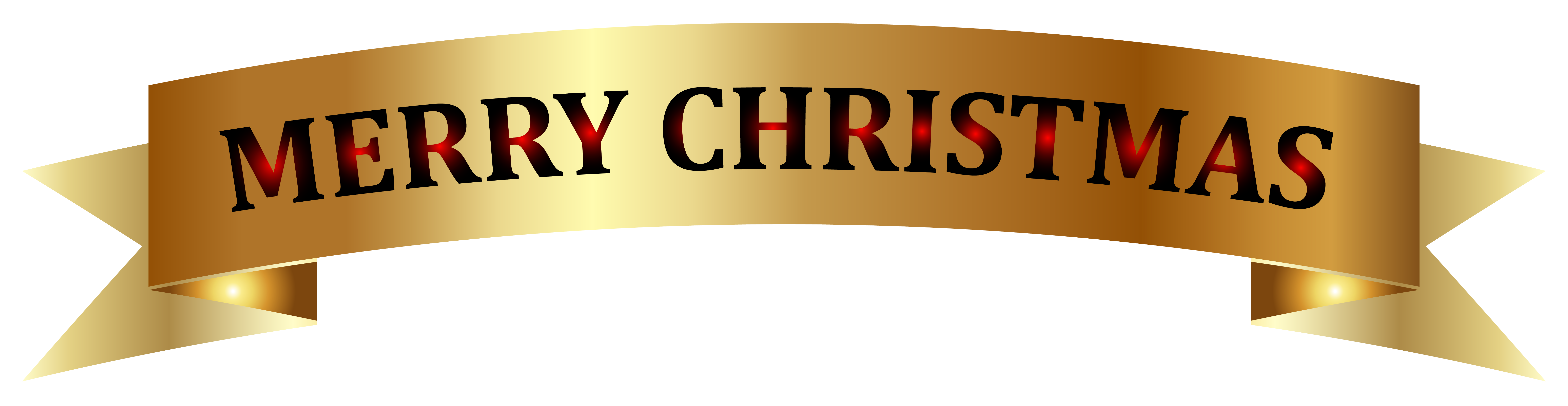Merry christmas banner clipart clip art free download Golden Merry Christmas Banner PNG Clip-Art Image | Gallery ... clip art free download