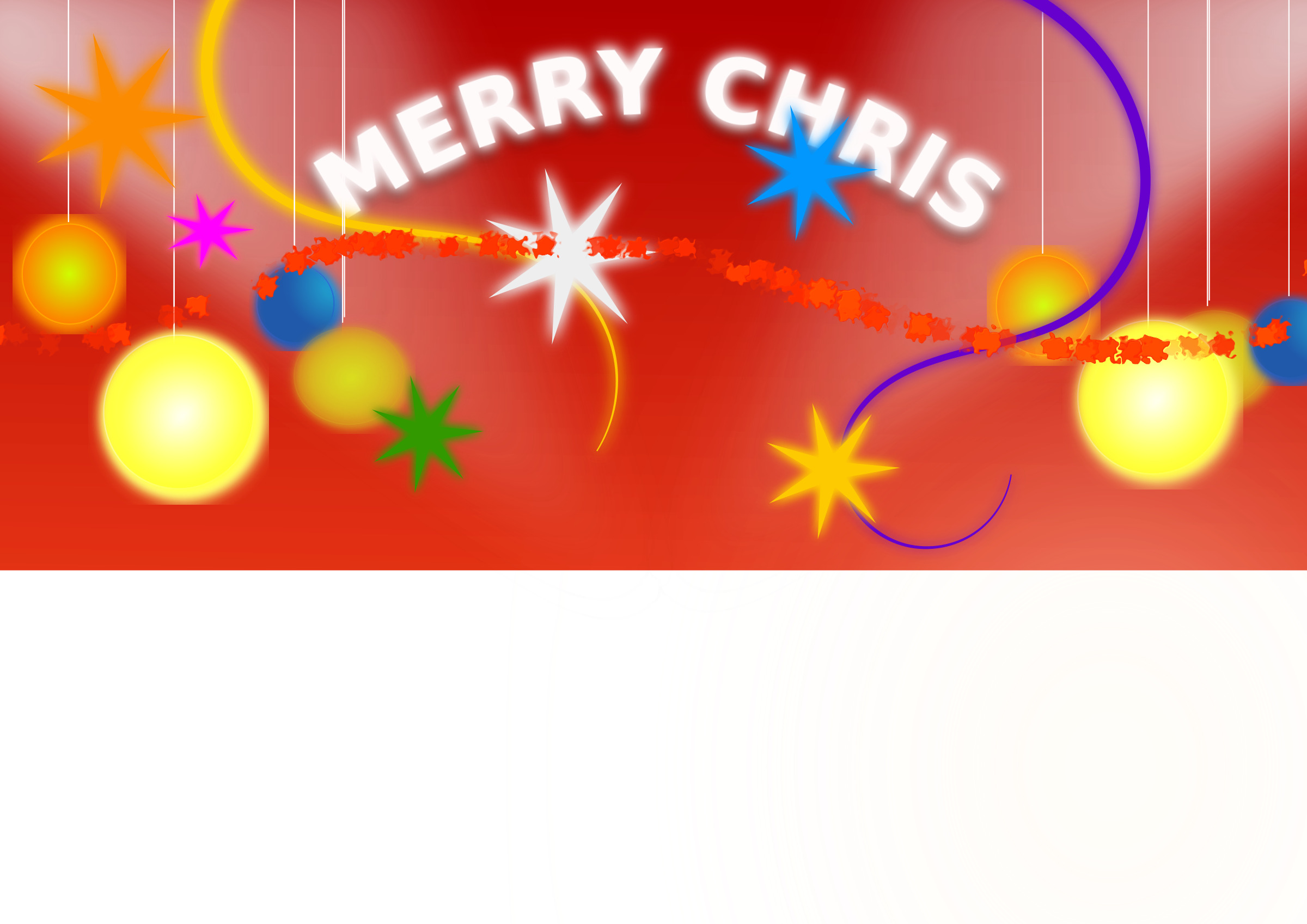 Christmas clipart banners graphic freeuse stock Clipart - Christmas Banner graphic freeuse stock