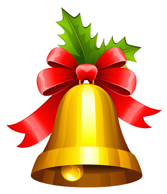 Christmas clipart bell svg transparent stock Christmas Bell Transparent PNG Clipart | Gallery Yopriceville ... svg transparent stock