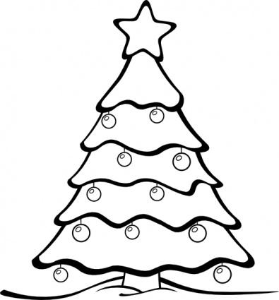 Christmas clipart black white free clip black and white stock Free Christmas Black And White Images, Download Free Clip Art, Free ... clip black and white stock