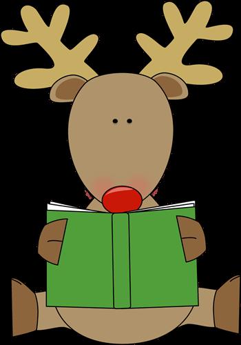 Christmas clipart books reading freeuse Books Christmas Cliparts - Cliparts Zone freeuse
