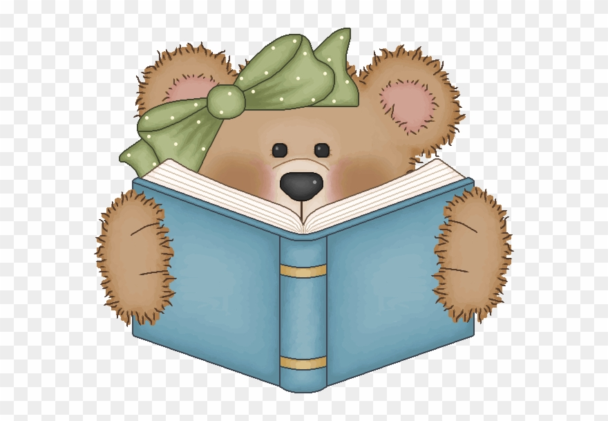 Christmas clipart books reading png freeuse library Christmas Reading Books Clipart - Bear With Book Clipart - Png ... png freeuse library