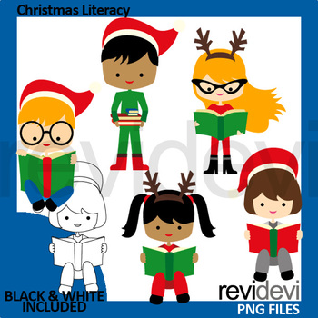 Christmas clipart books reading picture free download Christmas reading clipart (read a book clip art) picture free download