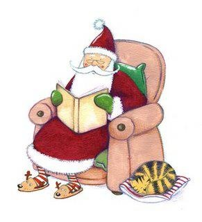 Christmas clipart books reading svg St Barnabas CE Primary School: Christmas Reading Challenge svg