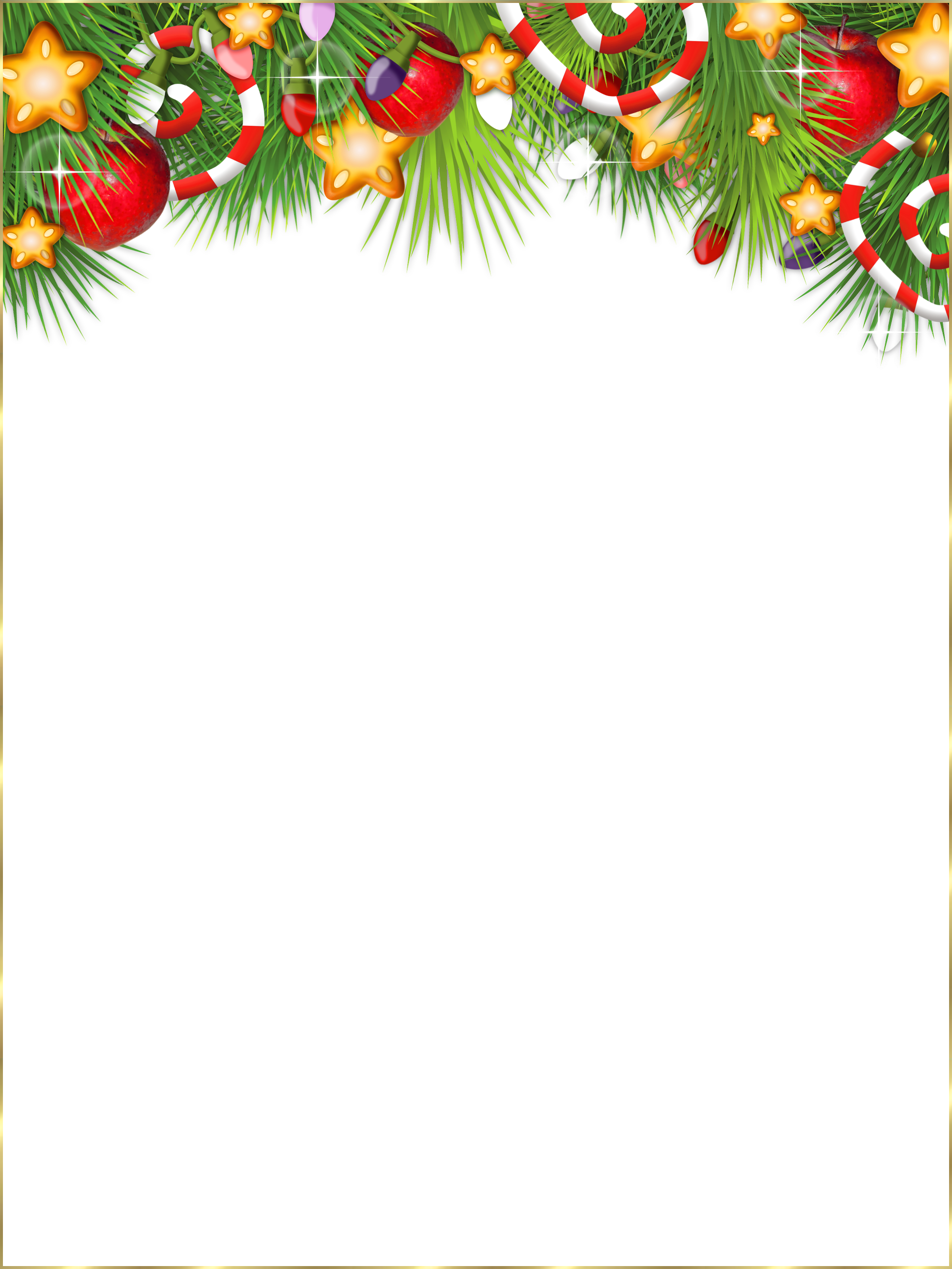 Christmas frame clipart clip black and white Cute Transparent Christmas Photo Frame | Gallery Yopriceville ... clip black and white