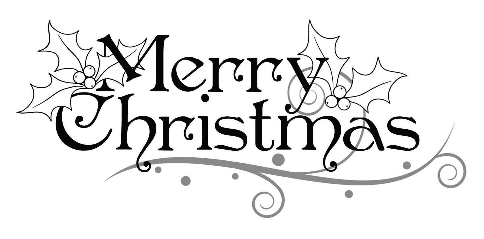 Clipart black and white christmas card image free Xmas Clipart Black And White | Free download best Xmas Clipart Black ... image free