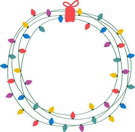 Christmas clipart circle stock Christmas Circle Cliparts - Making-The-Web.com stock
