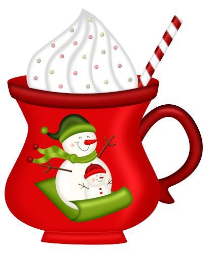 Christmas clipart cup stock Coffee Mug Clip Art For Christmas - Genitti\'s stock