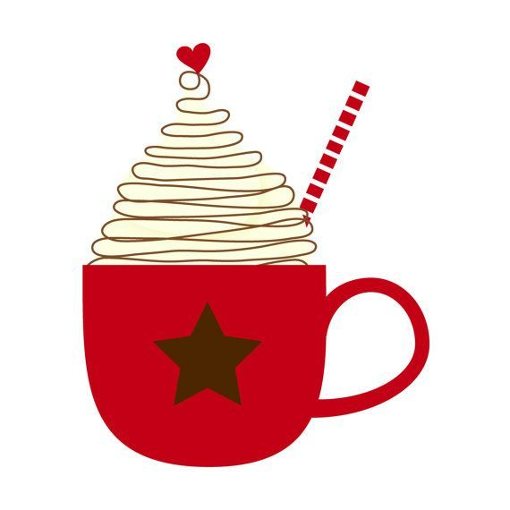 Christmas clipart cup image library download hot chocolate clip art   Cup of Hot Cocoa Clip Art Single by by ... image library download