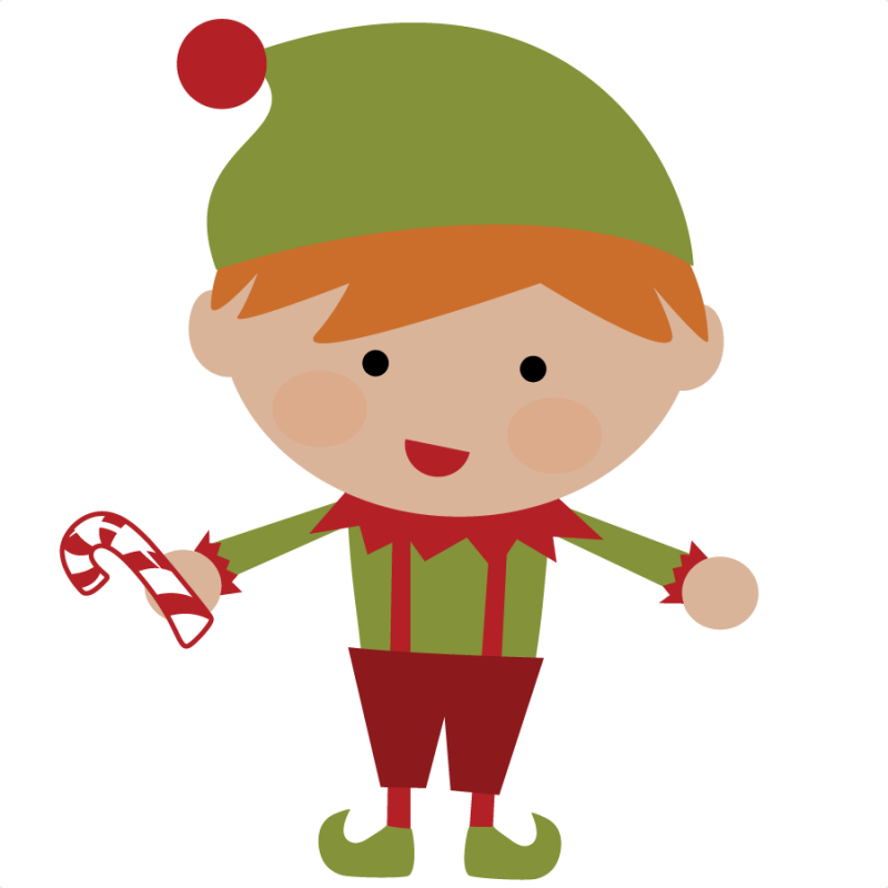 Clipart christmas elf png free library Cute Christmas Elves Clipart png free library
