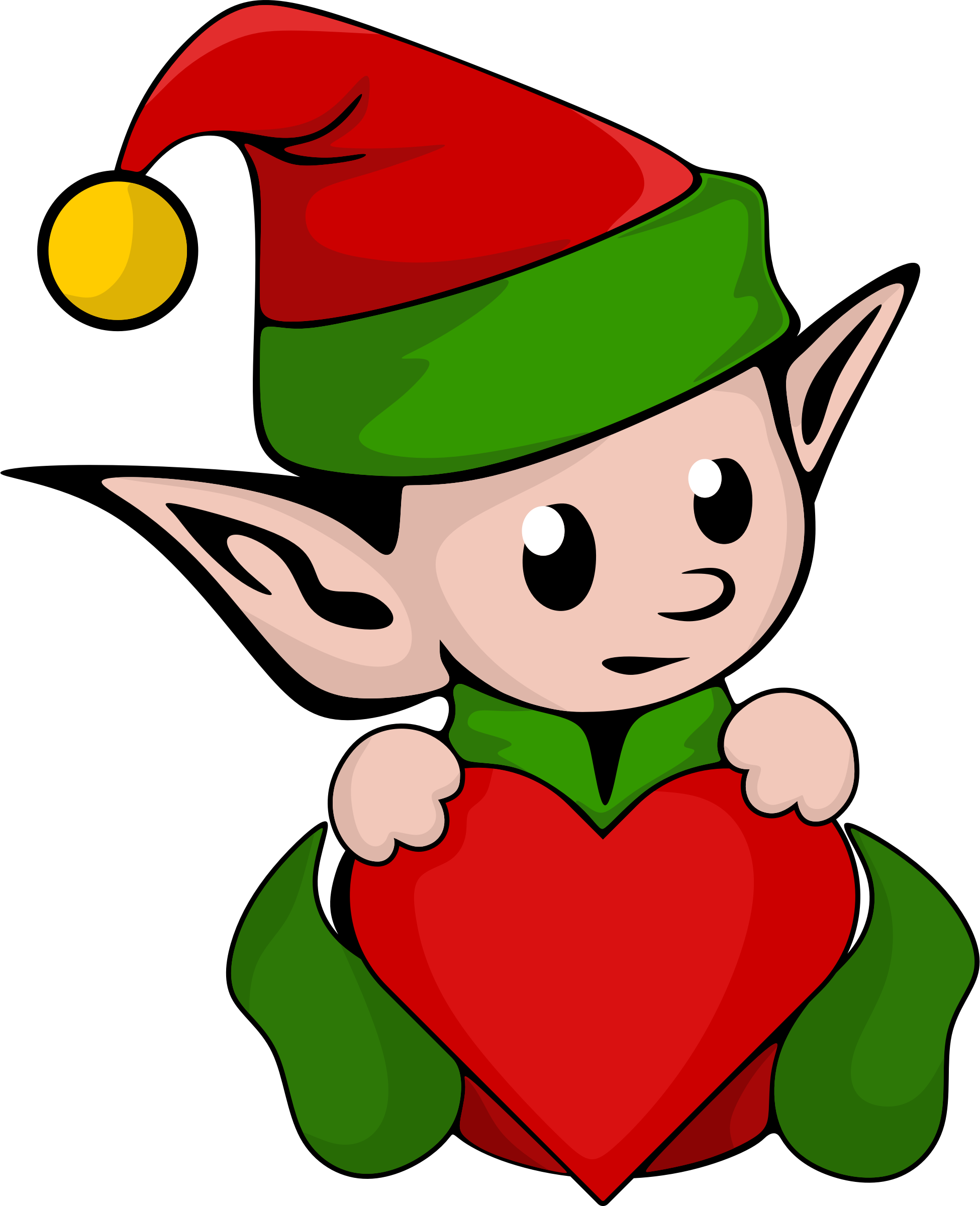 Clipart christmas elf clip art library download Cute Elf Clipart at GetDrawings.com | Free for personal use Cute Elf ... clip art library download
