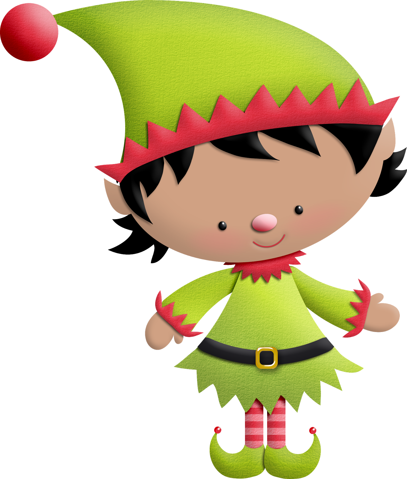 Christmas clipart elf png library Christmas Elves Clipart at GetDrawings.com | Free for personal use ... png library