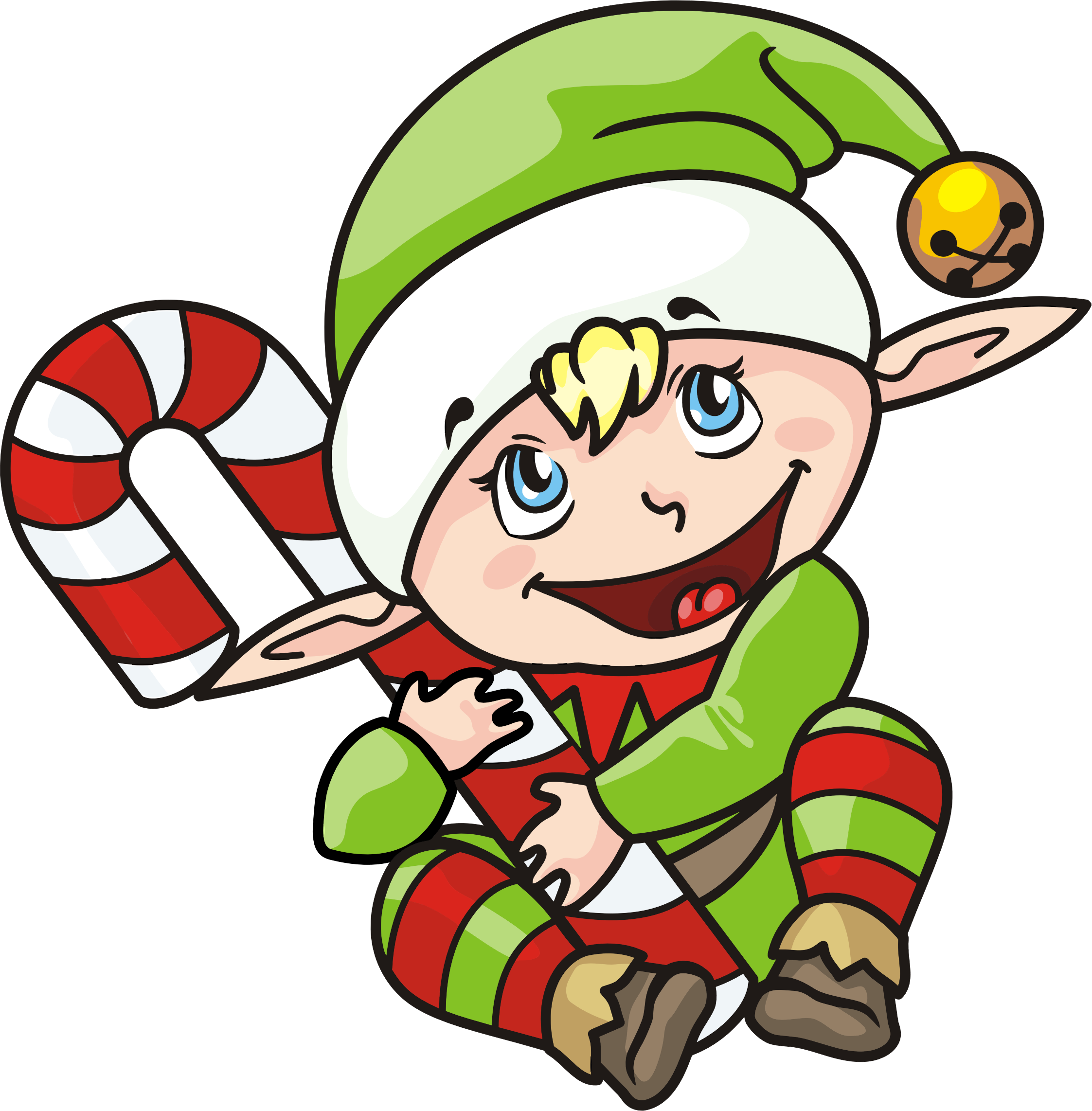 Clipart christmas elf graphic download Clipart - Christmas Elf graphic download