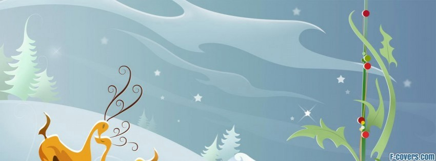 Christmas clipart facebook covers clipart transparent stock christmas deer clipart Facebook Cover timeline photo banner for fb clipart transparent stock