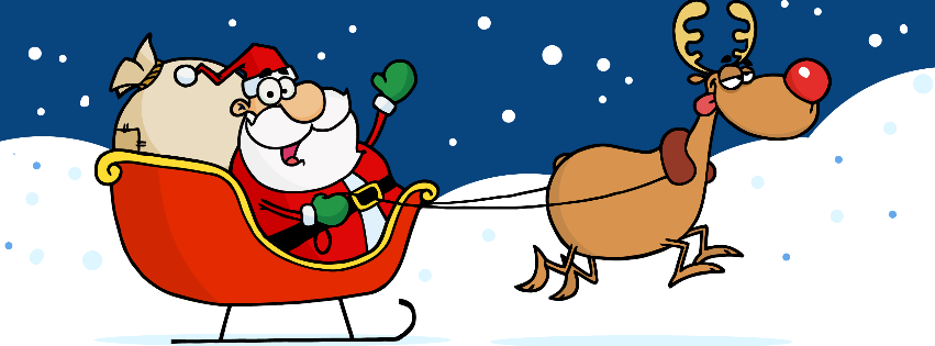 Christmas clipart facebook covers image library Christmas Facebook Timeline Cover | Jinglebell Junction image library