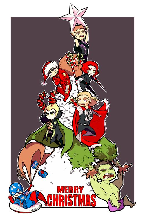Christmas clipart funny marvel image transparent download 1000+ images about Christmas cards on Pinterest | Xmas, Mermaids ... image transparent download