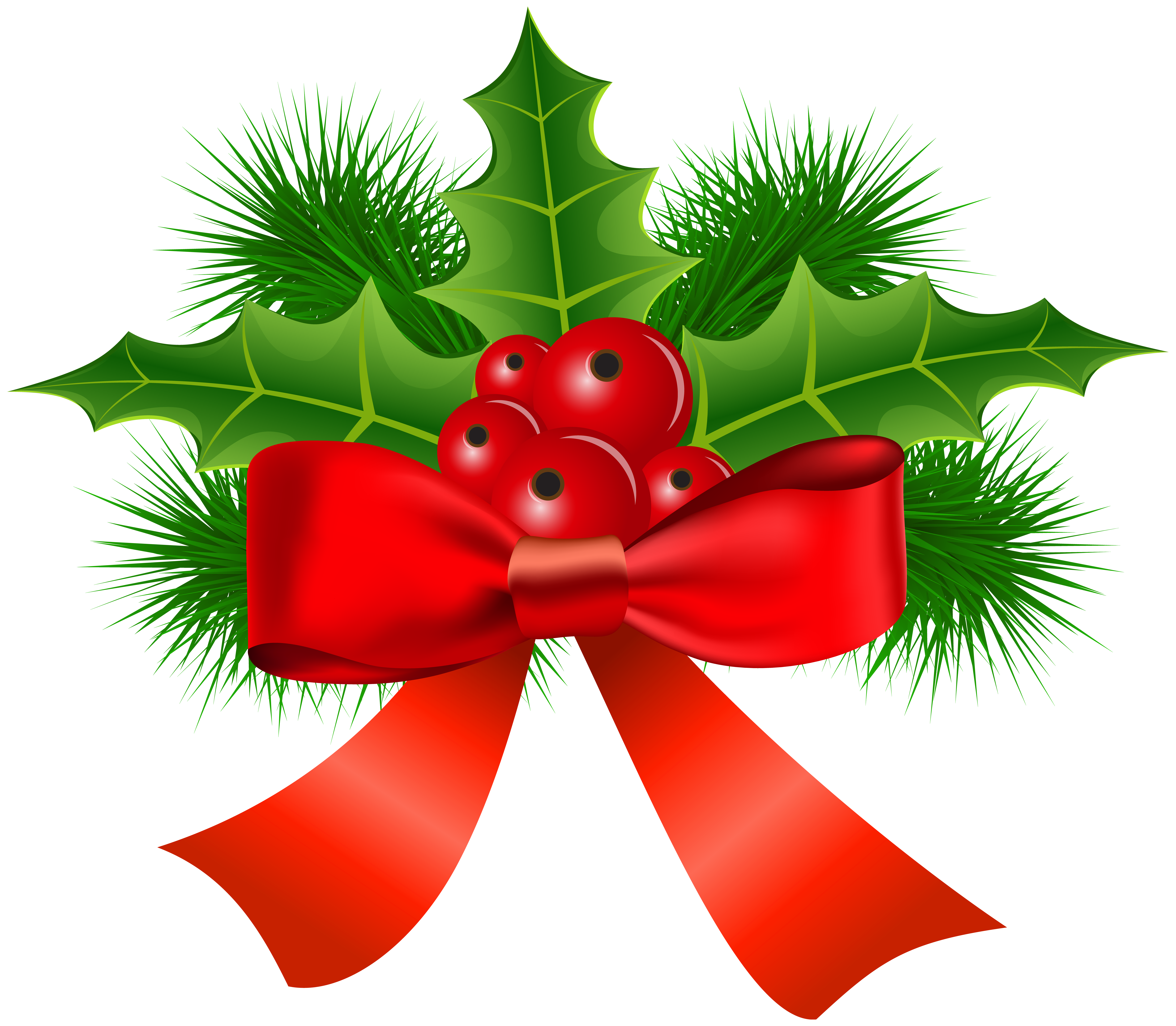 Christmas clipart holly jpg download Christmas Holly Transparent PNG Clip Art | Gallery Yopriceville ... jpg download
