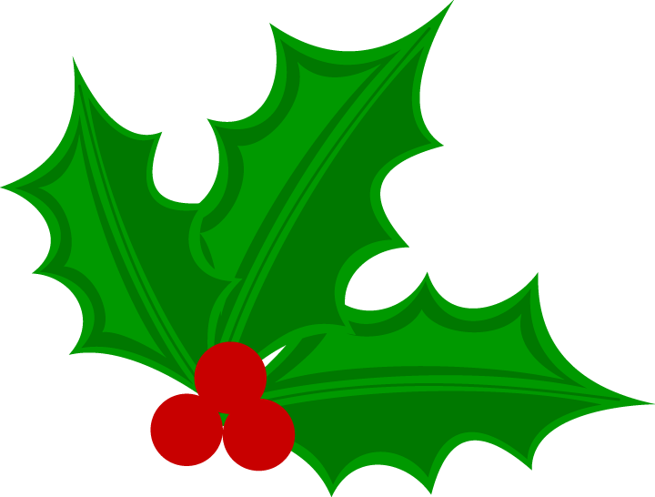 Christmas clipart holly jpg black and white library christmas holly clipart christmas holly mistletoe png clip art image ... jpg black and white library