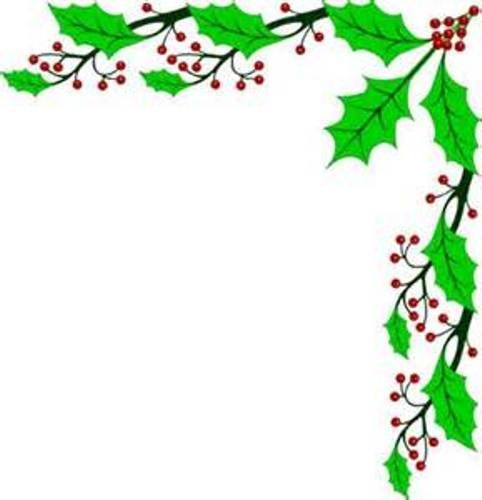 Free clipart christmas holly borders image freeuse library Christmas holly border clipart | Plants Clipart | Christmas border ... image freeuse library