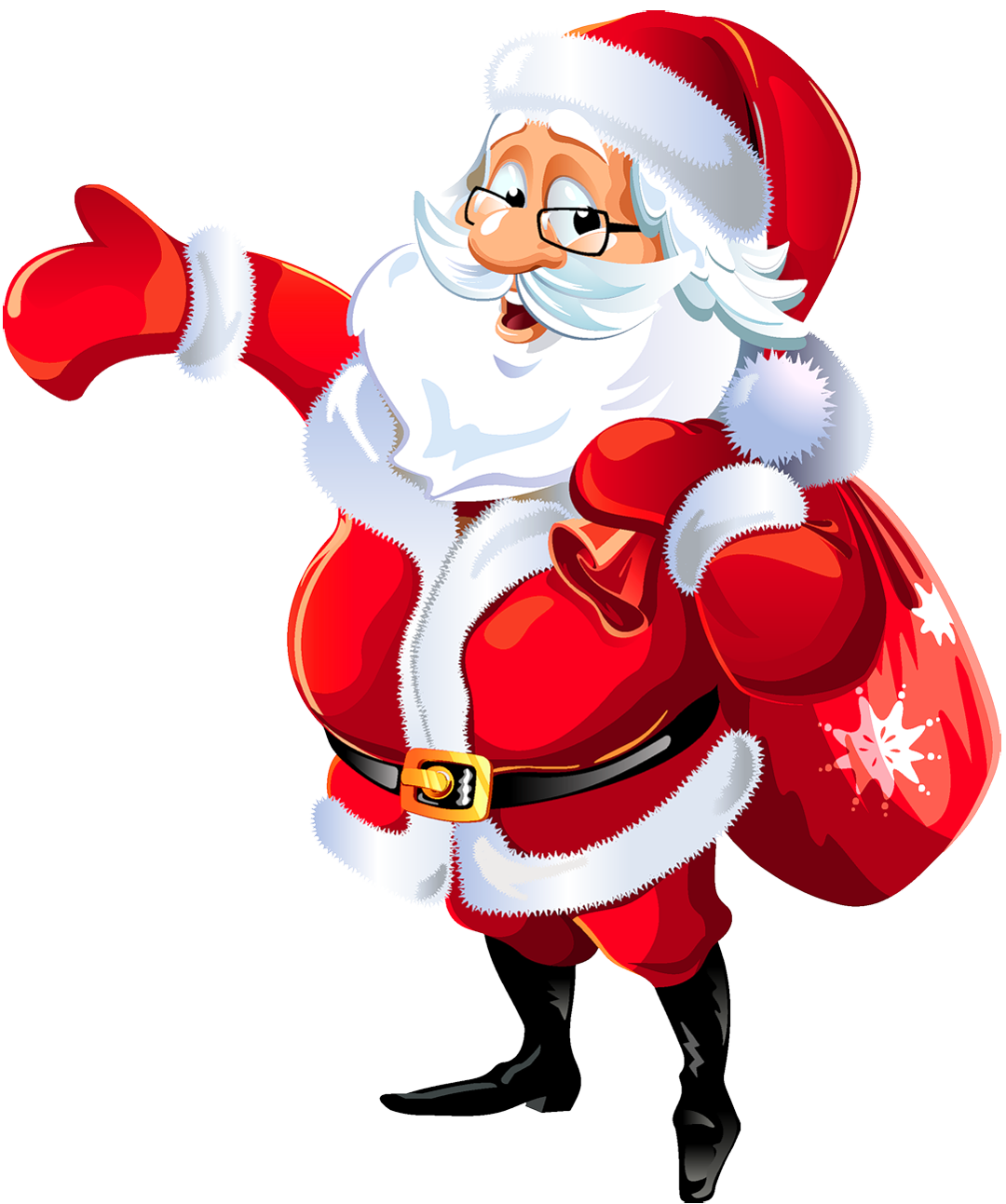 Christmas happy birthday clipart clipart black and white Santa Claus Background Picture For Desktop PC - Happy Birthday Jesus ... clipart black and white