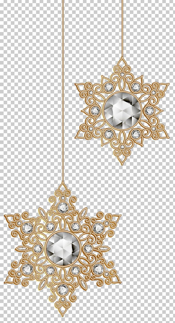 Christmas clipart jewelry png download Christmas Ornament Snowflake PNG, Clipart, Art Christmas, Body ... png download