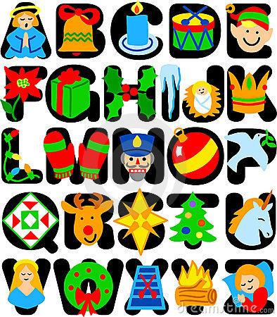 Alphabet clipartfest alphabeteps. Christmas clipart letters