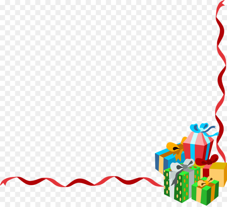 Christmas clipart lines borders graphic freeuse download Christmas Tree Border png download - 958*867 - Free Transparent ... graphic freeuse download