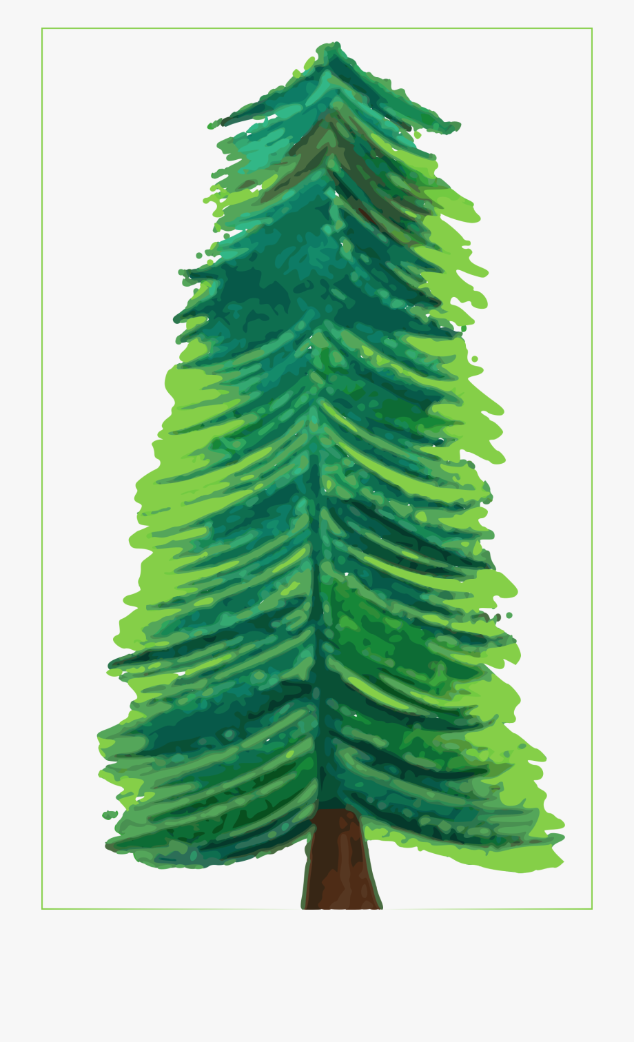 Christmas tree clipart color banner free library Color Big Image Png - Clipart Transparent Background Christmas Tree ... banner free library