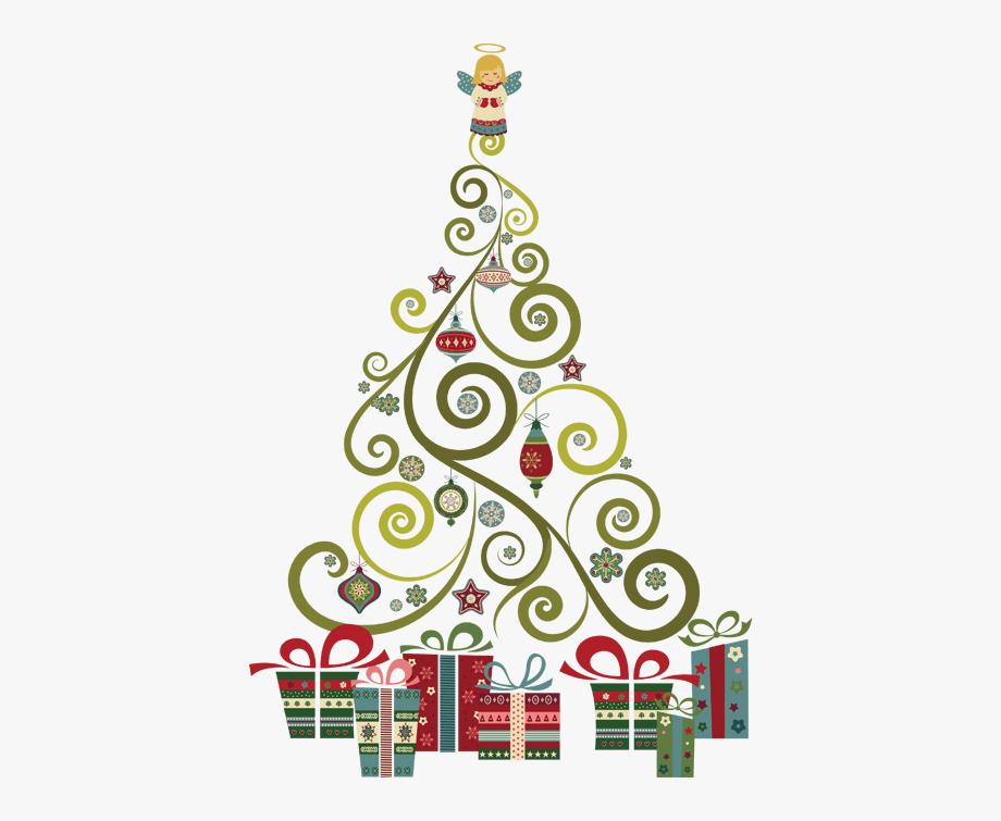 Christmas clipart on pinterest black white border picture library Christmas Clipart On Pinterest - Abstract Christmas Tree Clipart ... picture library