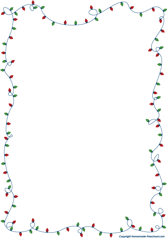 Free clipart borders holiday picture black and white library Free animated christmas clipart borders - Clip Art Library picture black and white library