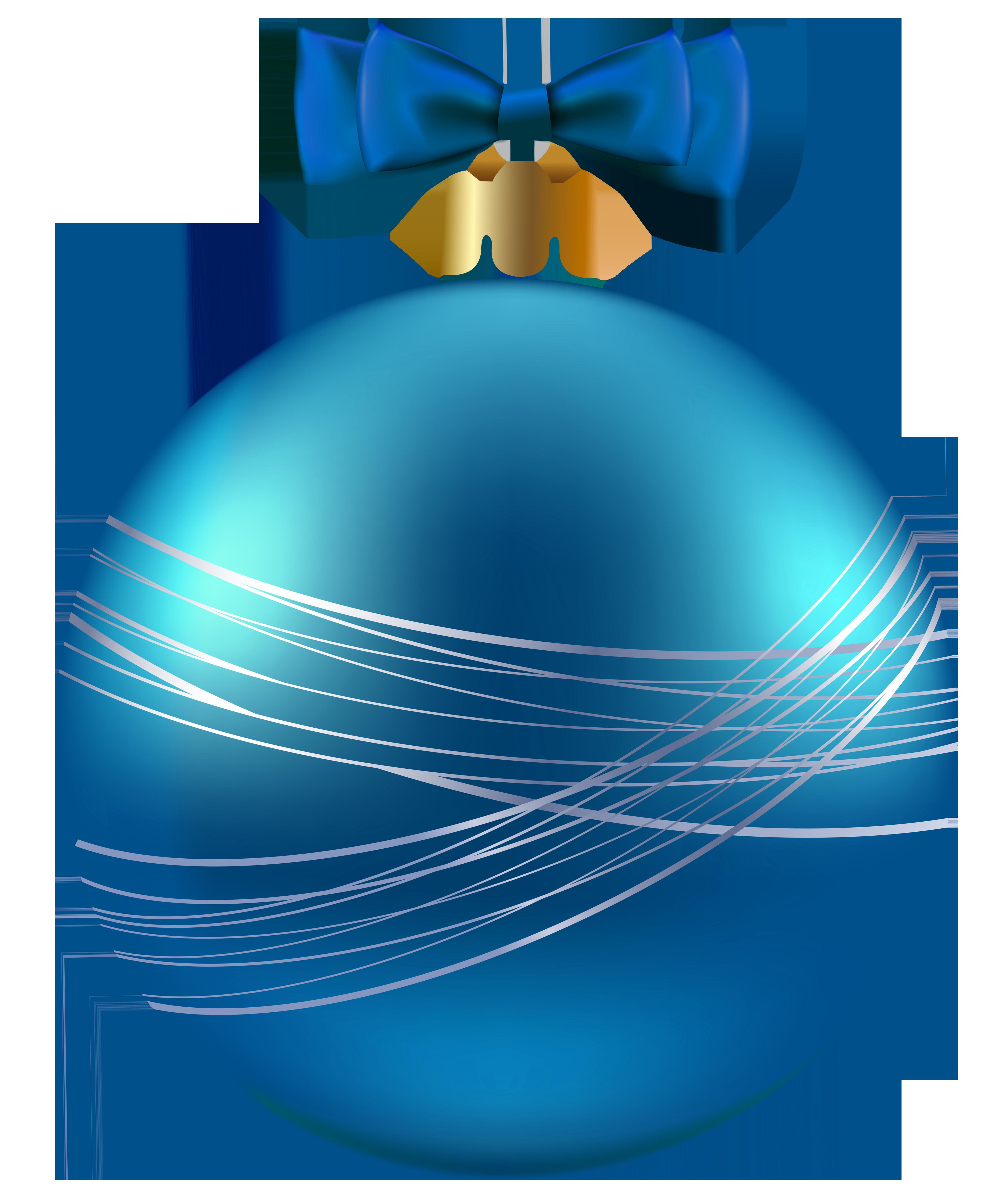 Christmas ornaments images clipart svg transparent Blue Christmas Ornament PNG Clipart Image | Gallery Yopriceville ... svg transparent