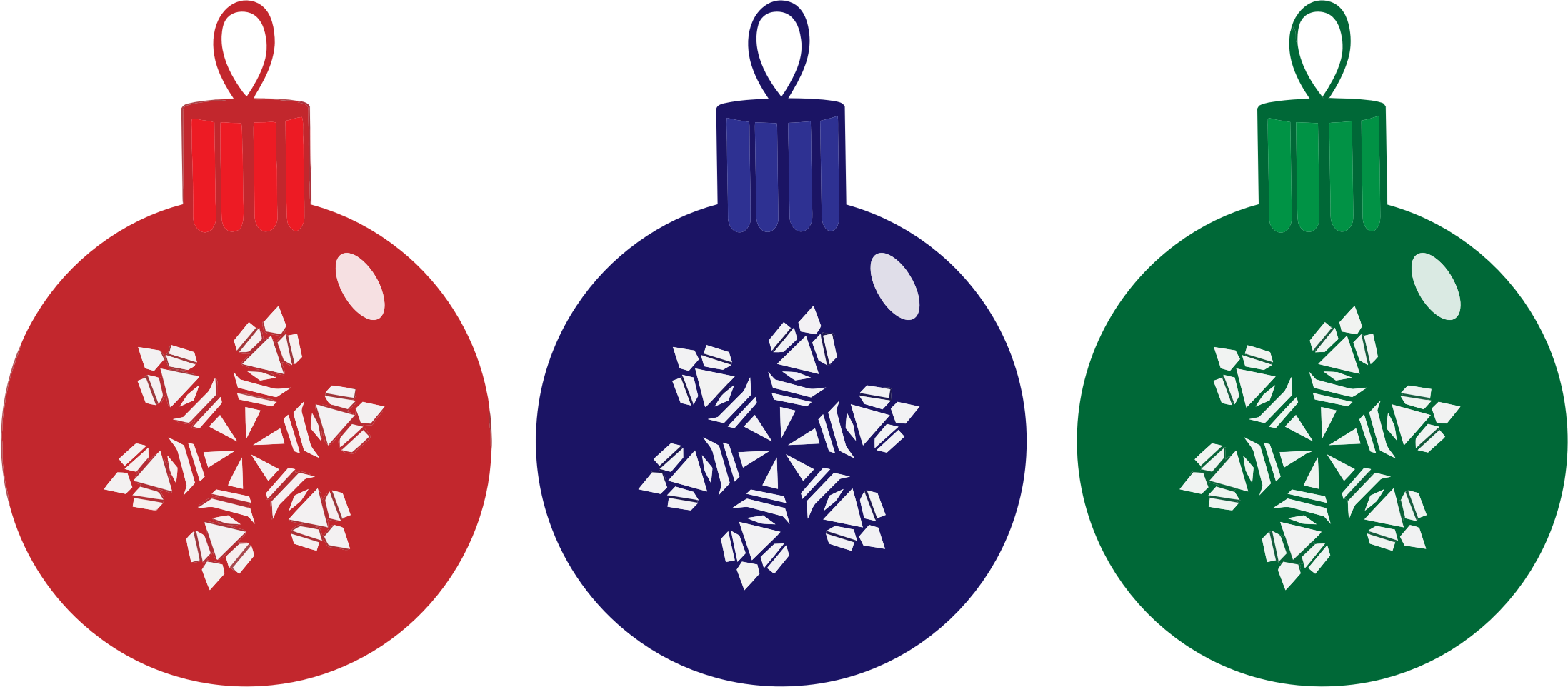 Christmas clipart ornaments clip library library RGB Christmas Ornaments Icons PNG - Free PNG and Icons Downloads clip library library