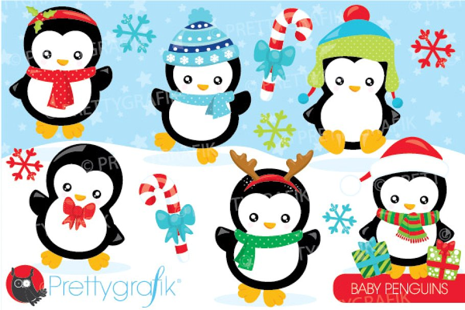 Christmas penguin images clipart graphic free stock Christmas penguin clipart graphic free stock