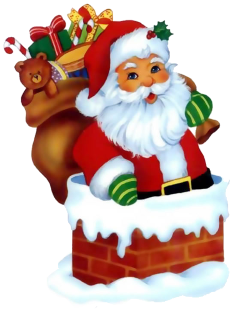 Christmas puppy clipart picture library library CHRISTMAS SANTA CLIP ART | CLIP ART - SANTA CLAUS - CLIPART ... picture library library