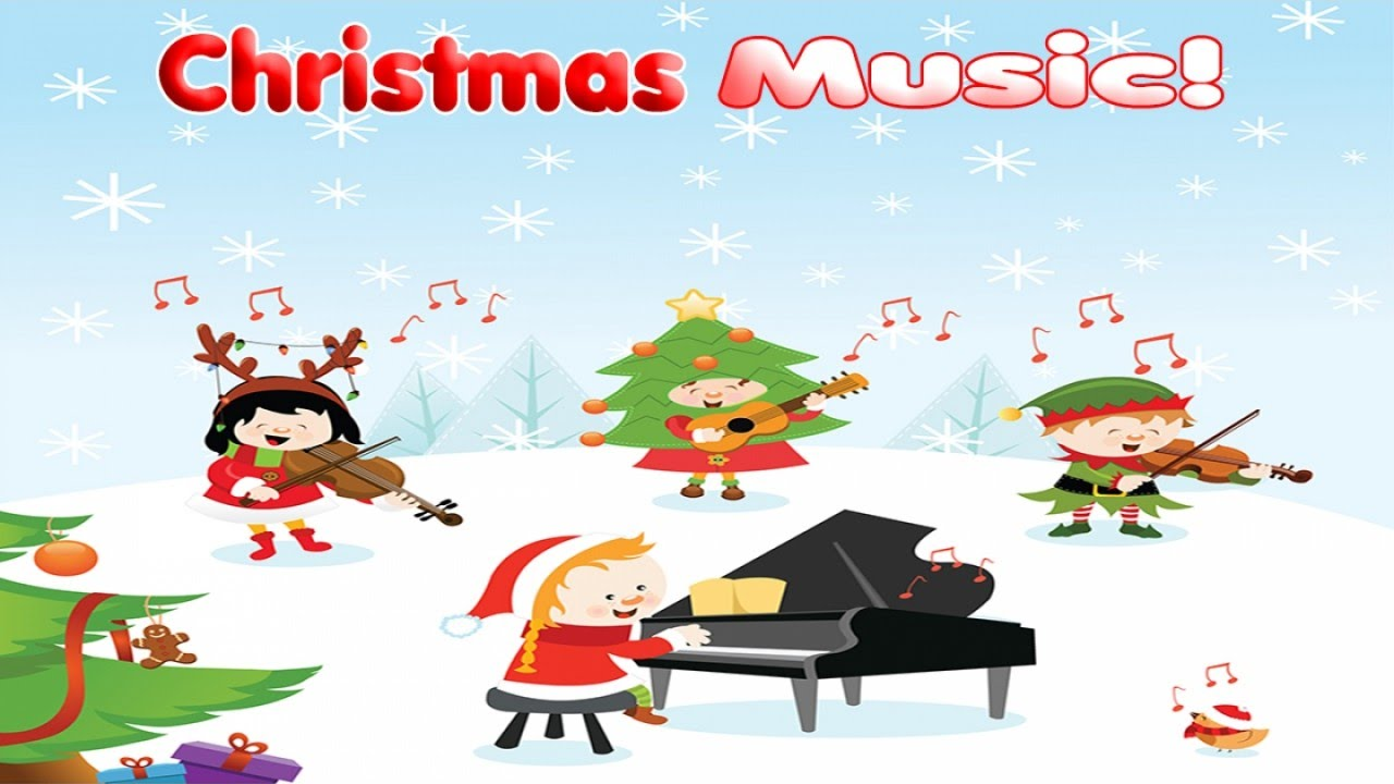 Christmas clipart playing violin clip stock Best Relaxing Christmas Piano & Violin Music for Kids - Top Christmas  Playlist clip stock