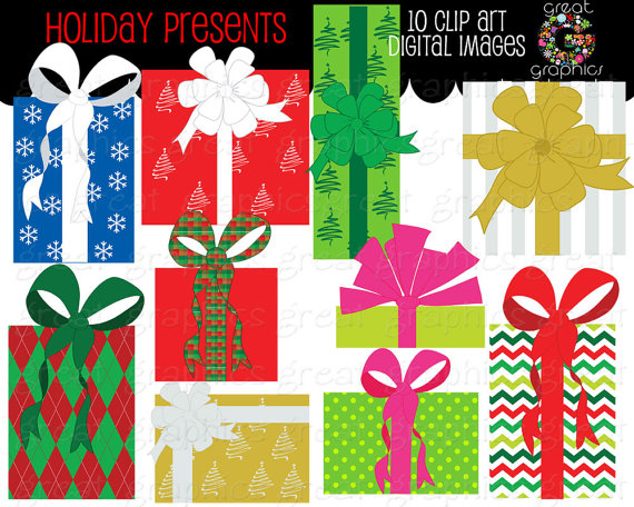 Christmas clipart printables free download Christmas Clip Art holiday presents clip art printable Christmas ... free download