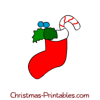Christmas clipart printables graphic library Christmas Stockings ClipArt graphic library