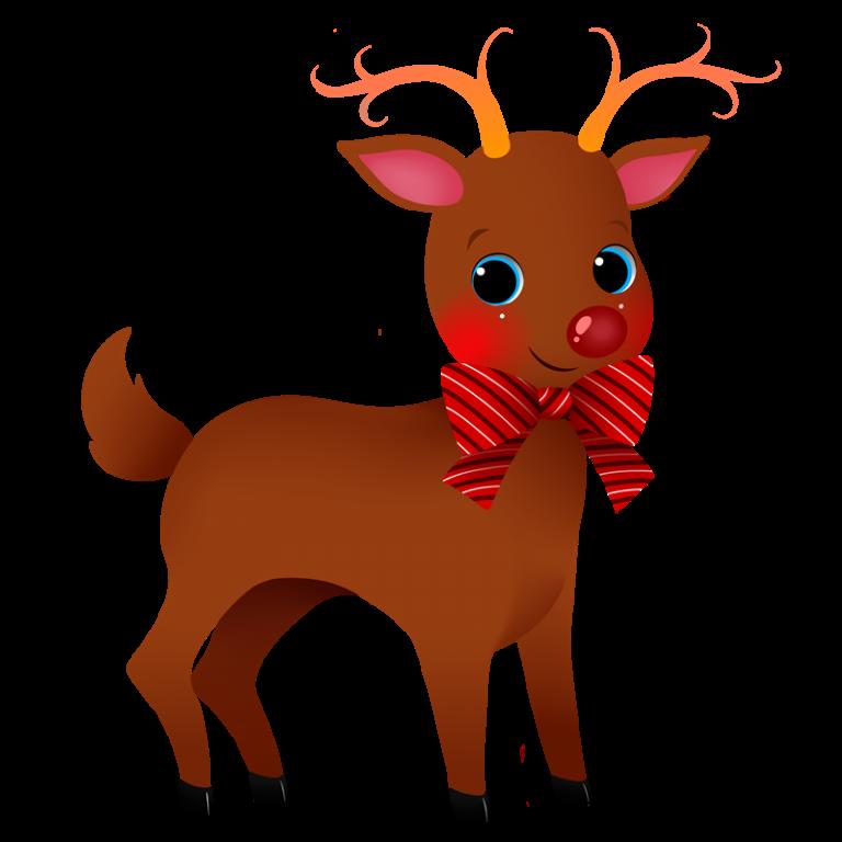 Reindeer christmas clipart vector free stock Cute Reindeer Clipart christmas reindeer clipart 6 happy christmas ... vector free stock