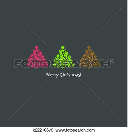 Of festive card design. Christmas clipart row graphics