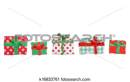 Christmas clipart row graphics. Clipartfox of gifts with