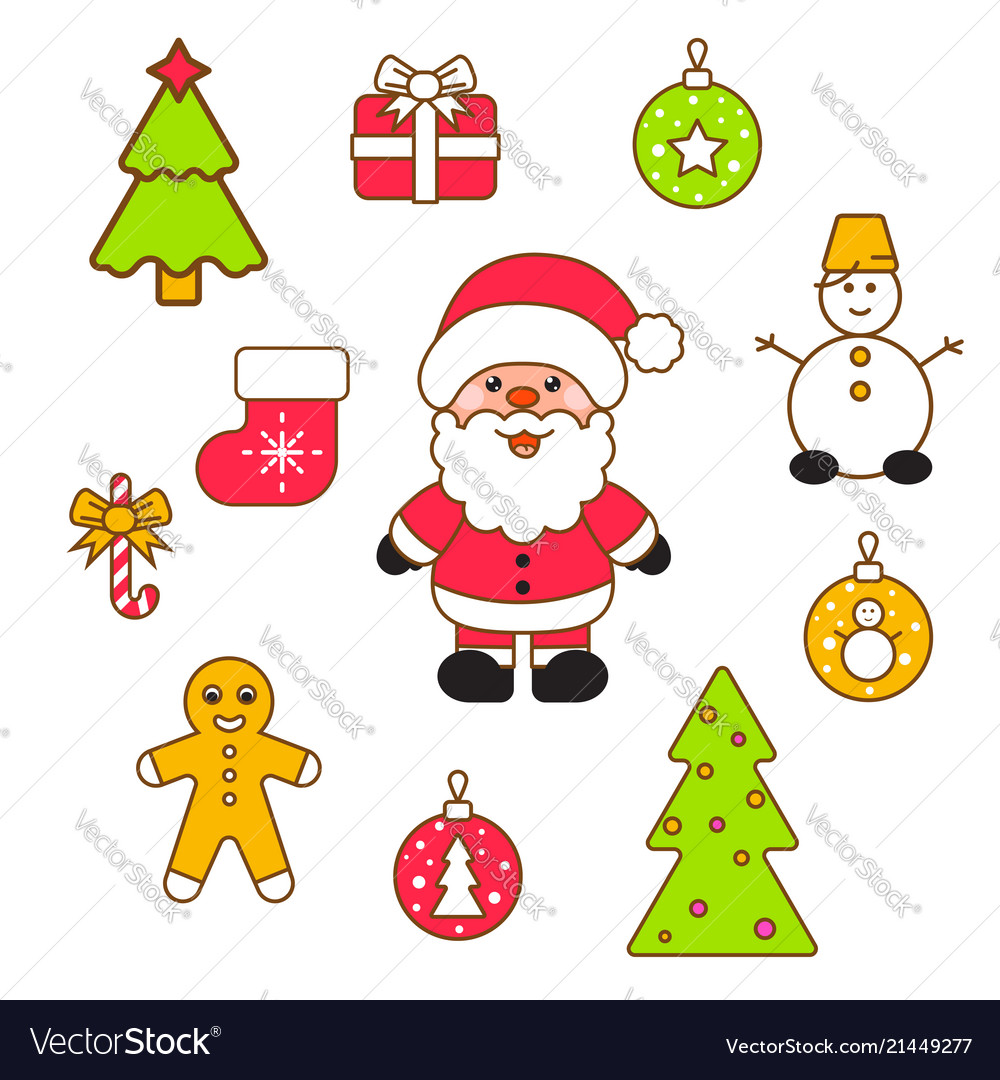 Xmas clipart images banner transparent library Xmas clipart set banner transparent library