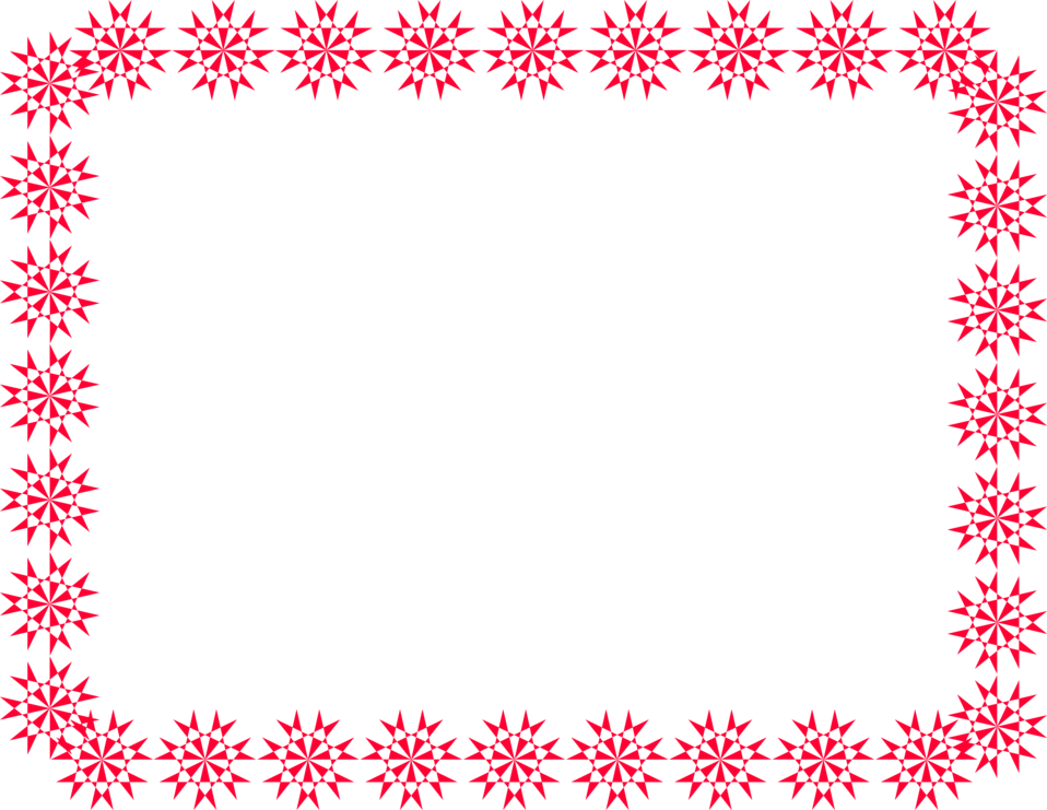 Free red snowflake border clipart banner free Border Red | Free Stock Photo | Illustration of a blank red frame ... banner free